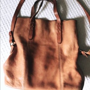 Madewell Dylan leather tote
